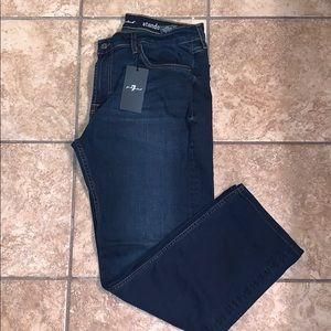 7 For All Mankind Standard Jeans- NWT!